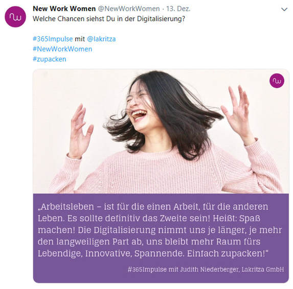 #365Impulse Lakritza Judith Niederberger Digitalisierung